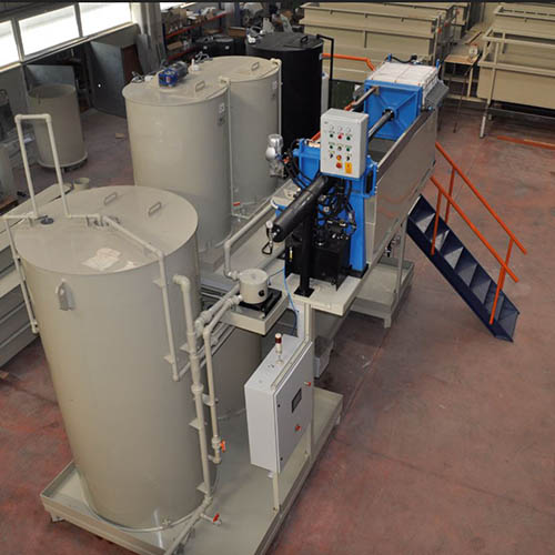 Galvanized plant installation | Chemical Purification Systems-3