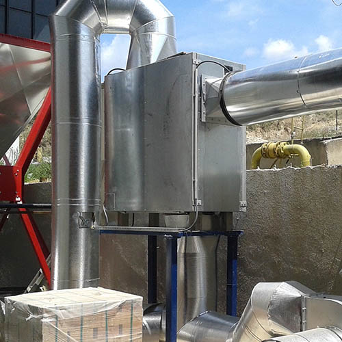 Galvanized plant installation | Chimney Heat Recovery Systems-3