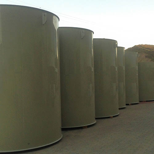 Galvanized plant installation | Chemical Storage Systems-4