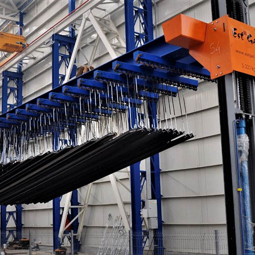 Galvanized plant installation | Loading / Unloading Systems-3