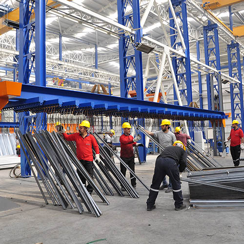 Galvanized plant installation | Loading / Unloading Systems-4