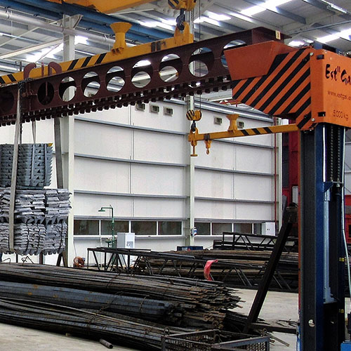 Galvanized plant installation | Loading / Unloading Systems-8